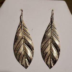 Leaf Shaped Earings